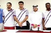 لژیونر ایرانی در قطر معرفی شد+عکس