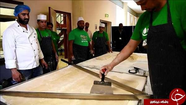 پخت بزرگترین سمبوسه جهان در لندن