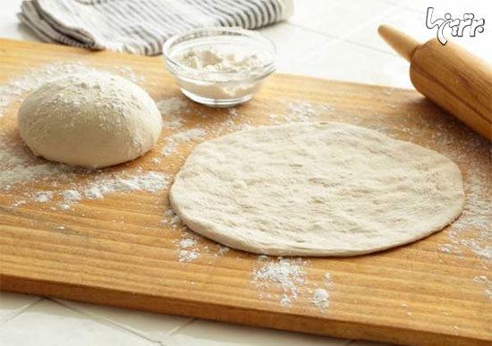 آموزش تهیه خمیر و سس پیتزا