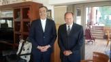 باشگاه خبرنگاران - جابری انصاری با امیل لحود رئیس جمهور اسبق لبنان دیدار کرد