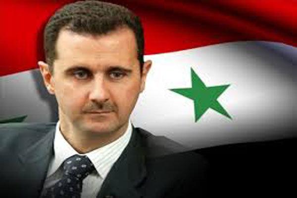 بشار اسد در نماز عید قربان شرکت کرد