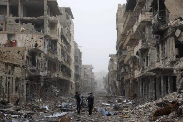 کشته شدن بیش از 680 غیر نظامی سوریه در عملیات اعتلاف آمریکا + فیلم