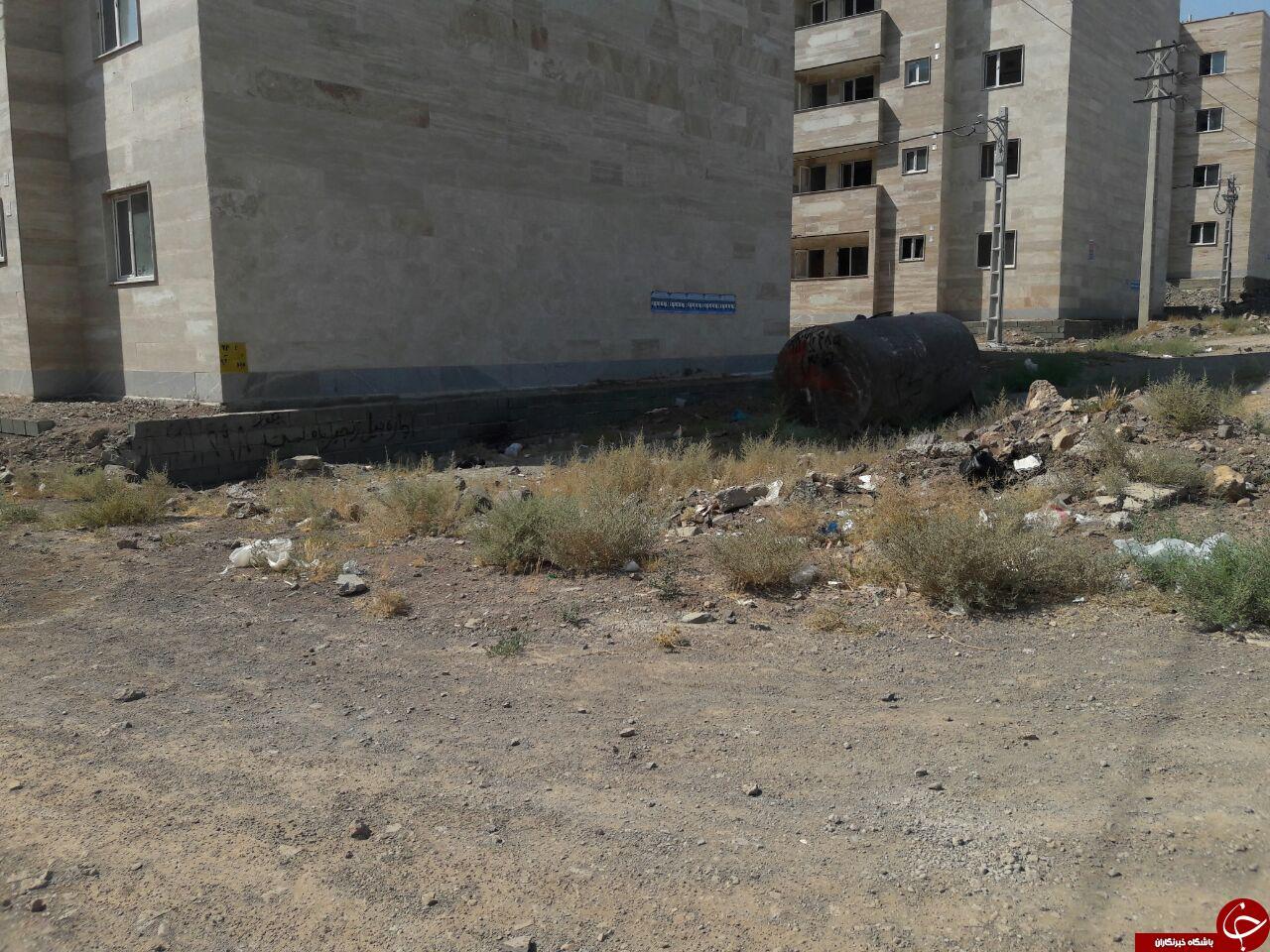 وضعیت اسفبار مسکن مهر صفادشت + تصاویر