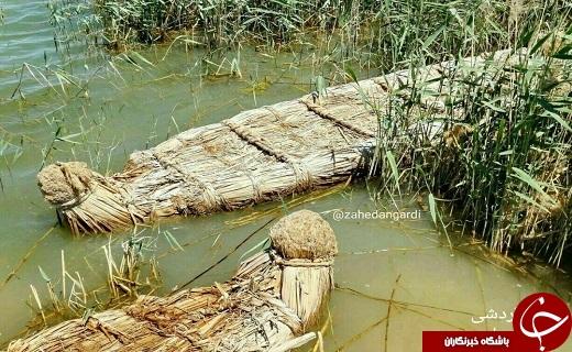 توتن (قایق) یکی از صنایع دستی سیستان /دریاچه هامون هنوز هم چشم انتطار حیات دوباره آن است
