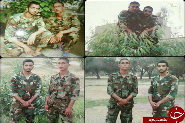 دوران سربازی شهید حججی