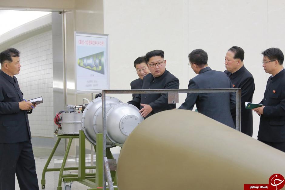 ویژگیهای بمب هیدروژنی جدید کره شمالی+ تصاویر