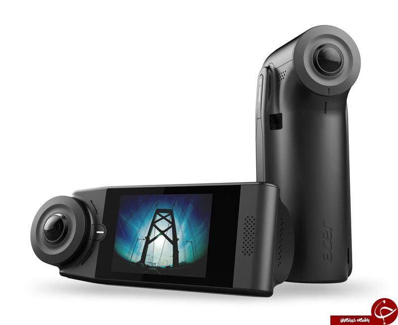دوربین 360 درجه Acer معرفی شد
