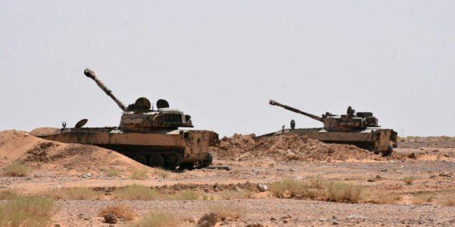 نزدیک شدن ارتش سوریه به اطراف تیپ 137/ 12 خودروی بمب گذاری شده منهدم شدند
