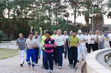 برگزاری همایش «گروههای ورزشی صبحگاهی» بوستانهای مشهد