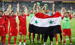///روایت گاردین از پیروزی سوریه در دو میدان ورزشی و نظامی