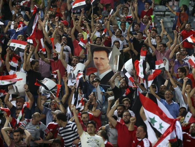 شادی گسترده مردم دمشق از حضور در پلی آف جام جهانی