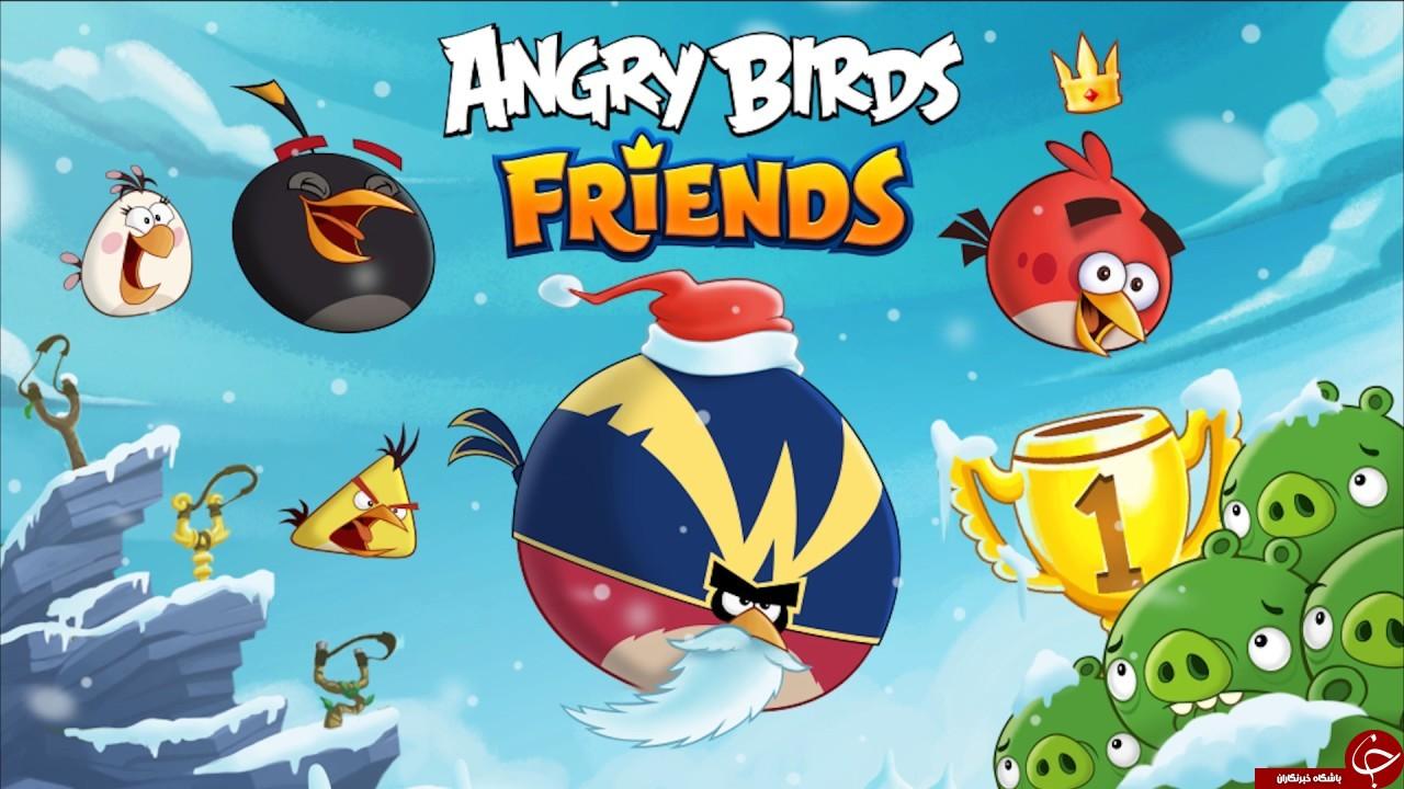 بازی Angry Birds Friends 3.7.0 – انگری بیرد دوستان