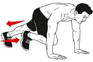 حرکات ورزشی برای سوزاندن چربی شکم