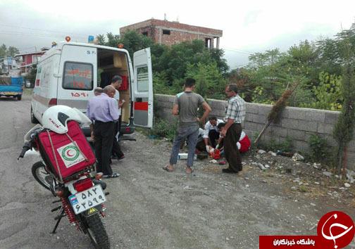 ۴ تصادف در جادههای مازندران با یک کشته و ۱۳ مصدوم +تصاویر