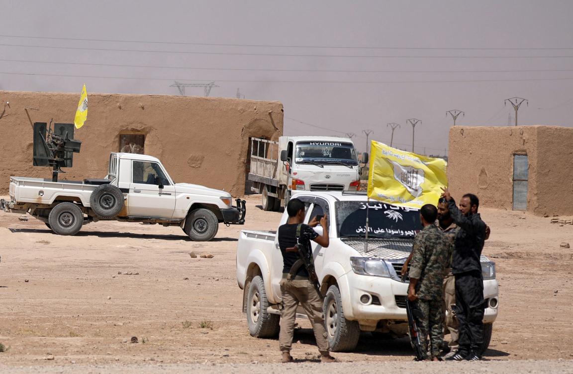 باشگاه خبرنگاران -بازپسگیری یک میدان نفتی از داعش در نزدیکی دیرالزور