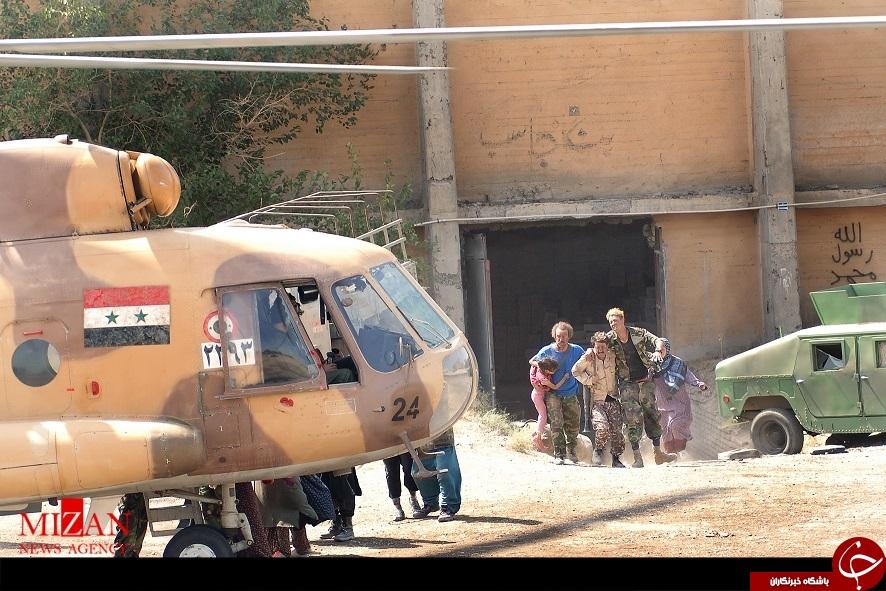 بالگرد ارتش سوریه در اطراف تهران +عکس