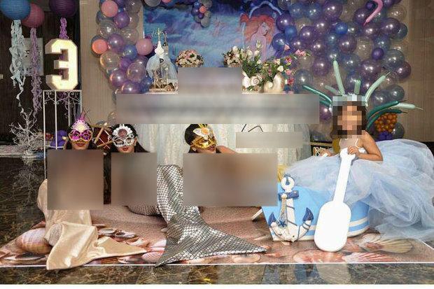 استفاده از دختران جوان برای دکور جشنها و مراسم/ از پرنسس ۲۰۰ هزارتومانی تا پری دریایی ارزان+عکس
