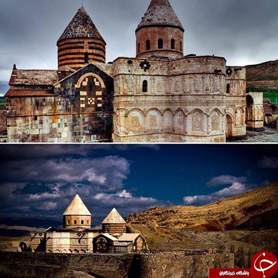 قدیمی ترین کلیسای جهان در ایران است +تصاویر