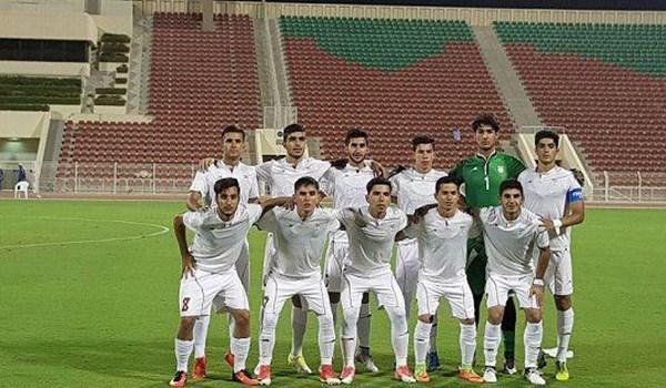 تساوی تیم فوتبال جوانان ایران مقابل عمان
