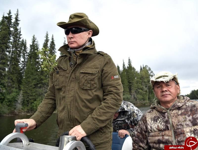 نقش ورزش در محبوبیت و قدرت سیاسی پوتین +تصاویر