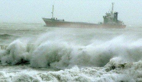 لحظاتی هولناک از طوفان هاتو هنگ کنگ + فیلم