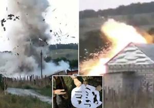 عملیات انتحاری همزمان 4 داعشی در یک کلبه+فیلم