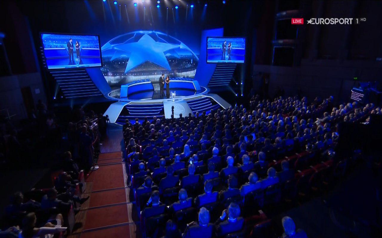 مراسم قرعه کشی مرحله گروهی لیگ قهرمانان اروپا