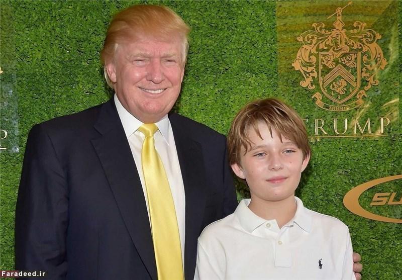 تصاویری جالب از همسران و فرزندان دونالد ترامپ