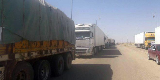700 تن کمکهای انسانی وارد «دیرالزور» سوریه شد
