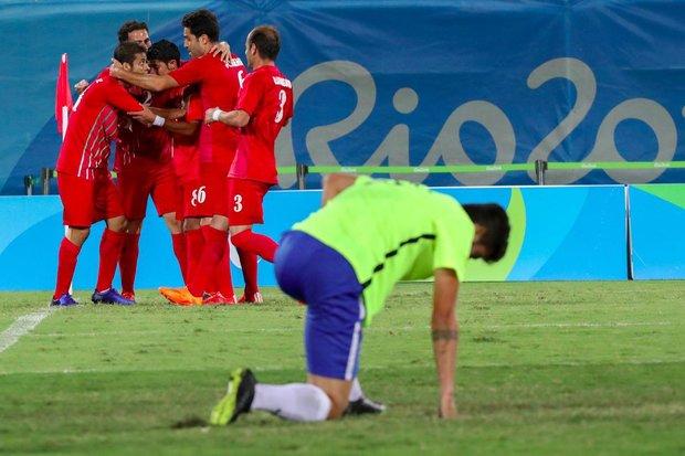 تیم ملی فوتبال هفت نفره مقابل روسیه شکست خورد