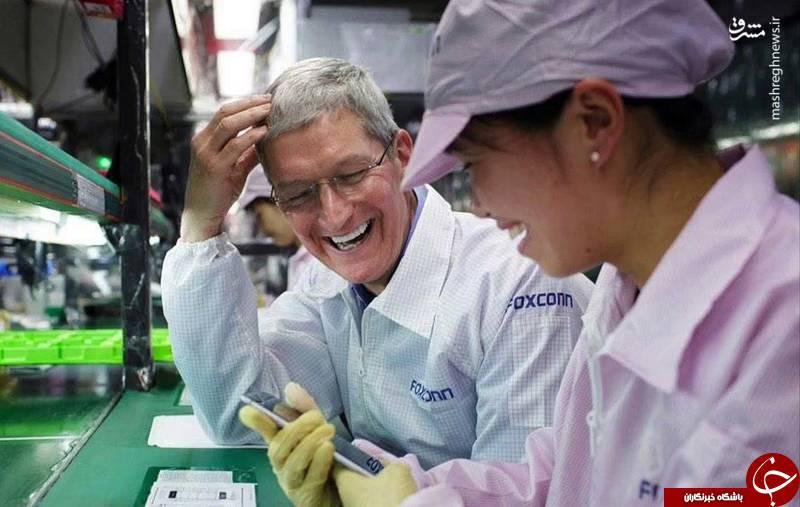 برای ساخت گوشیهای آیفون چند کارگر خودکشی میکنند؟ +تصاویر