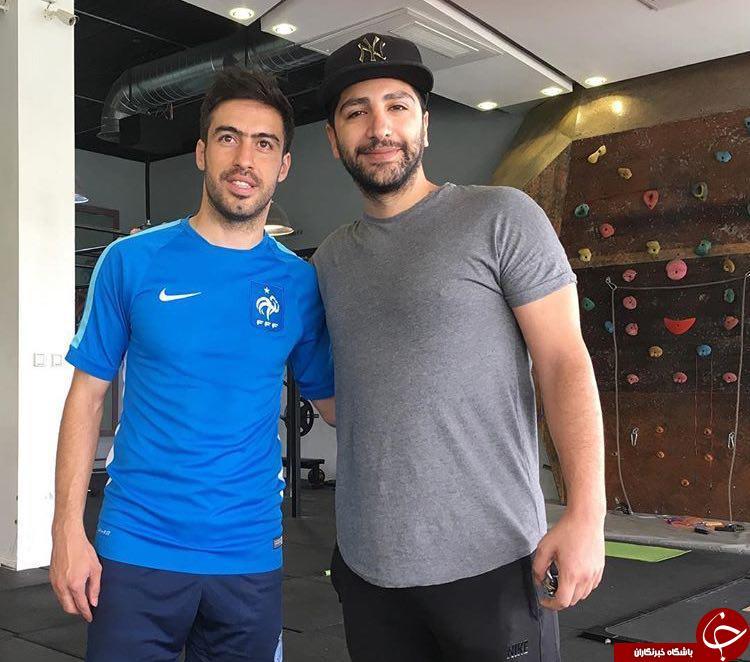 فوتبالیست ها و هنرمندانی که با هم در ارتباط هستند + تصاویر