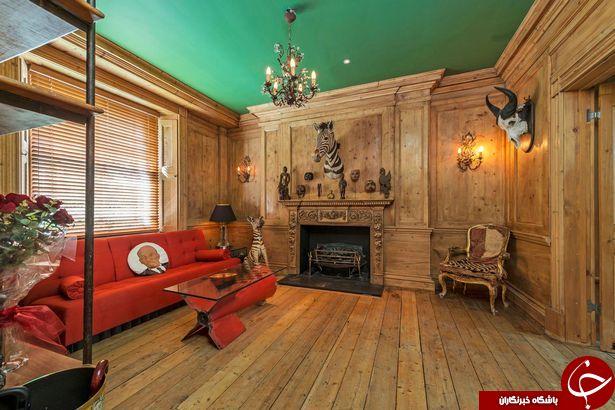 اجاره 35 هزار پوندی خانه ای عجیب در لندن+تصاویر