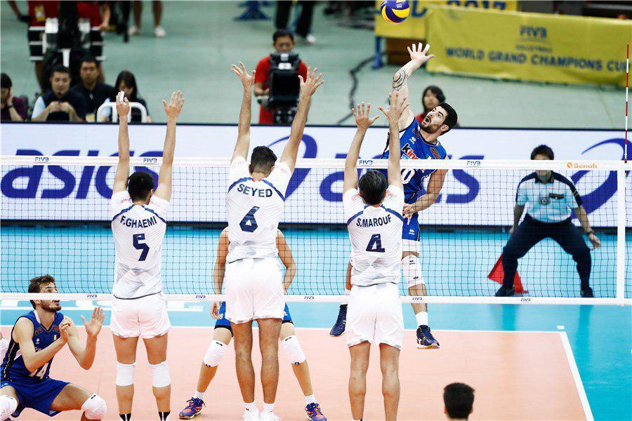 تیم ملی والیبال ایران ۱ ایتالیا ۱ / شاگردان «بلنجینی» پیروزِ ست دوم