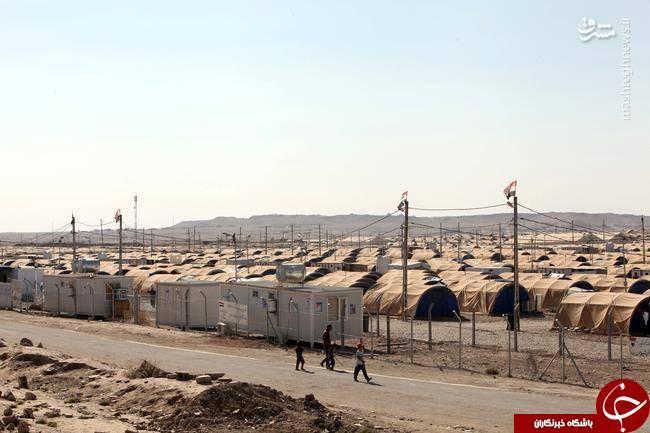 محل نگهداری زنان و فرزندان داعشیها +تصاویر