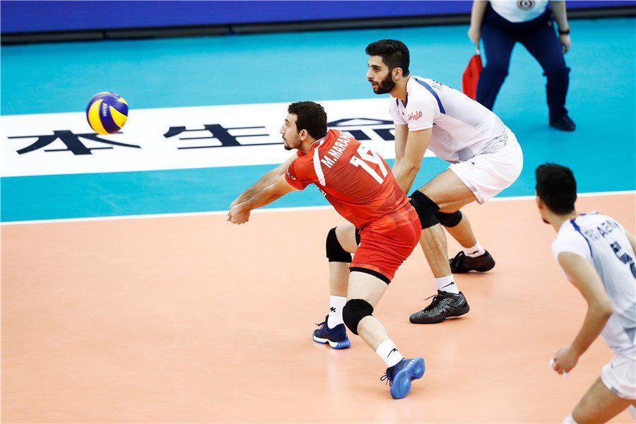 ایران ۲ –ایتالیا ۲ / بازی به ست پنجم کشیده شد