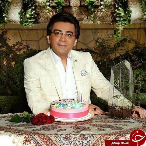 جشن تولد ۴۰ سالگی مجری مشهور و پرحاشیه +عکس