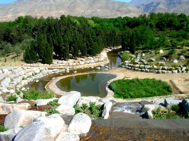 باغ گیاه شناسی تهران، نمونه یک باغ ایرانی
