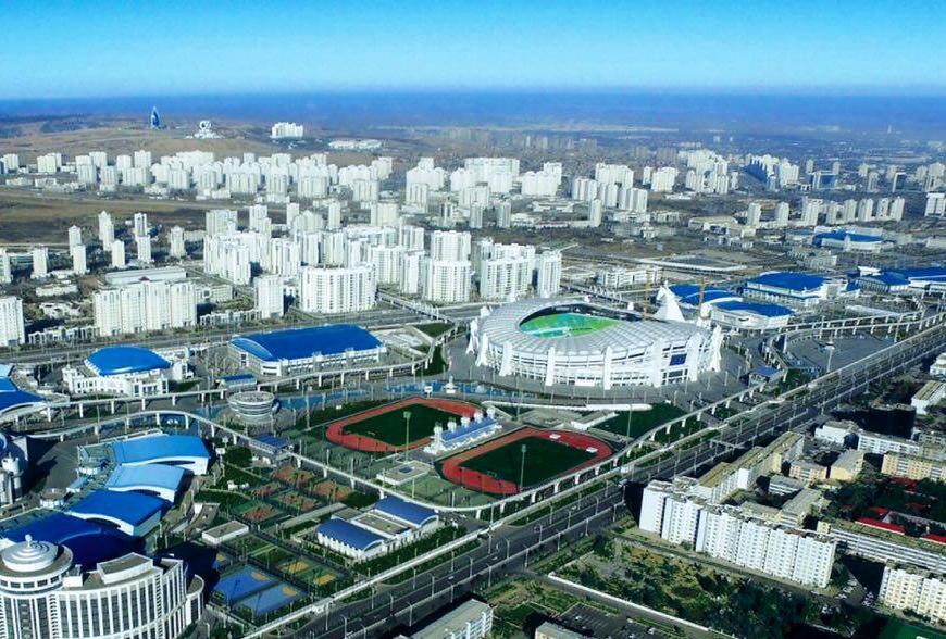 دهکده ورزشکاران/ بازیهای داخل سالن آسیا 2017-ترکمنستان
