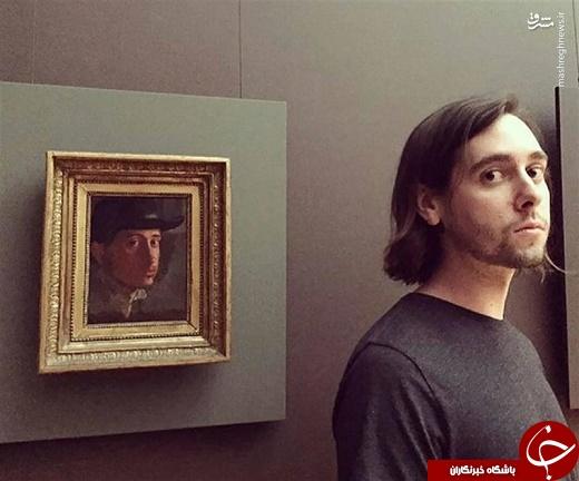 کسانی که همزادشان را در موزه پیدا کردند! + تصاویر