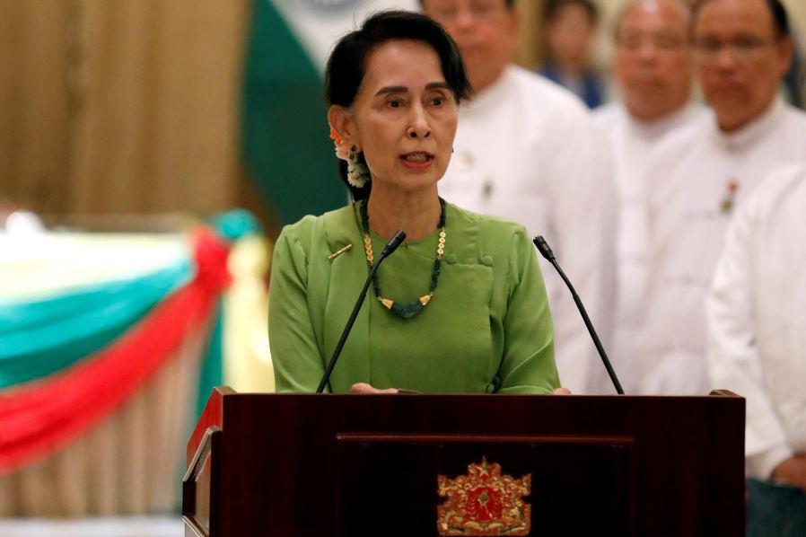 رهبر حزب حاکم میانمار در جلسه مجمع عمومی سازمان ملل شرکت نمیکند