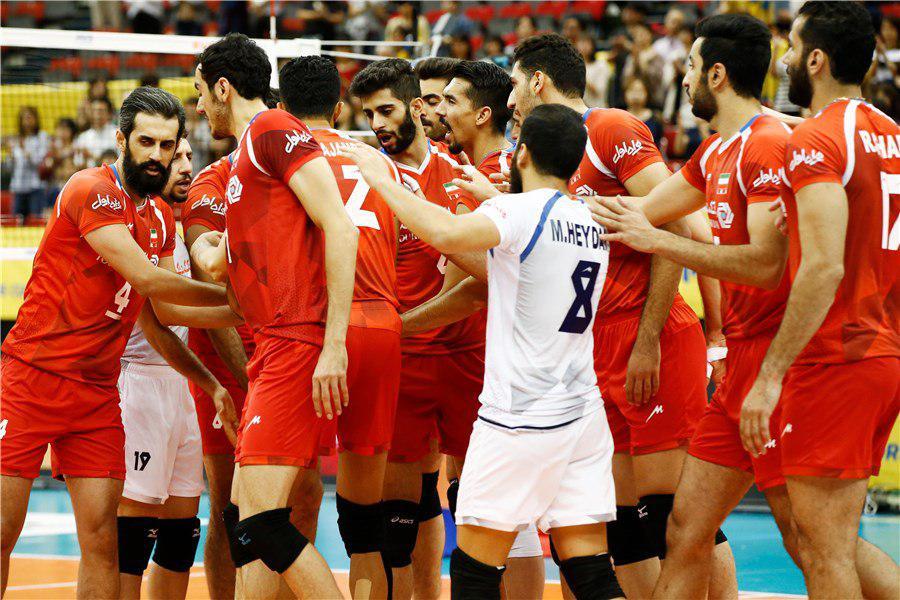 ایران 1 – آمریكا 2 / پیروزی بلندقامتان ایران در ست سوم