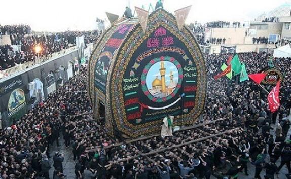 عزاداری محرم در یزد، حسینیه ایران