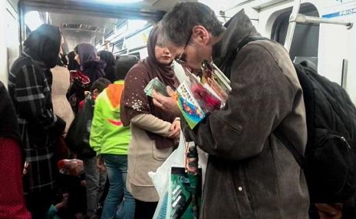 فروش شیر مرغ تا جان آدمیزاد در مترو + فیلم