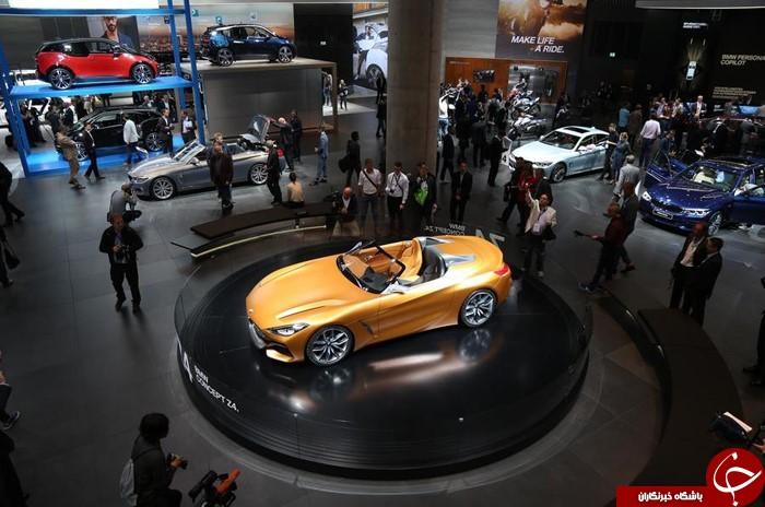 غولهای خودروسازی به نمایشگاه فرانکفورت رفتند+تصاویر