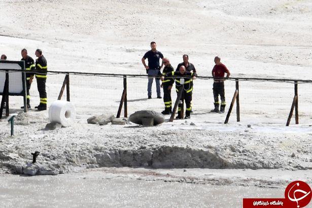 مرگ دردناک یک خانواده در دهانه آتشفشانی با گرمای 1000 درجه + تصاویر