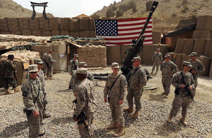 استقرار نظامیان آمریکایی نزدیک اربیل عراق!