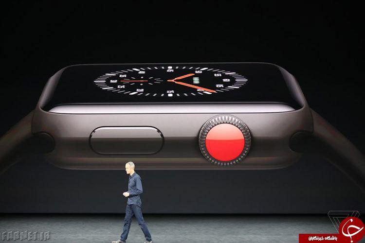رونمایی از نسل سوم  اپل واچ