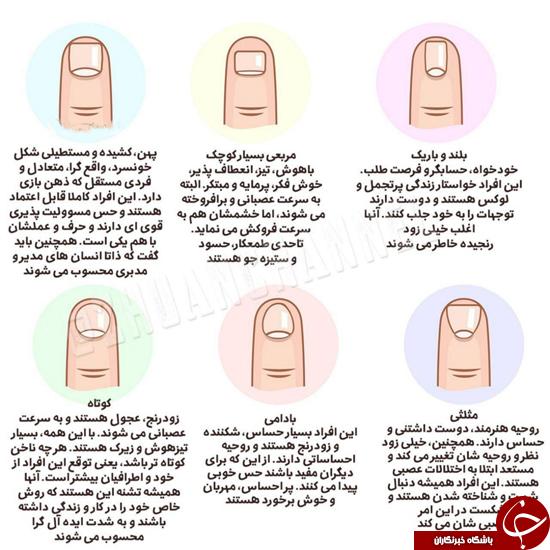 شخصیتها را از روی ناخن تشخیص دهید +عکس