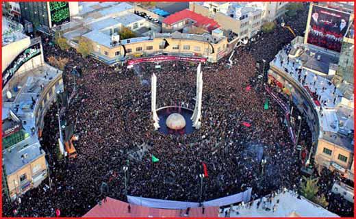 عزاداری محرم در زنجان